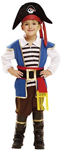 Imagen de my other me  disfraz de pequeño pirata para niño, 1 2 años viving costumes 202003