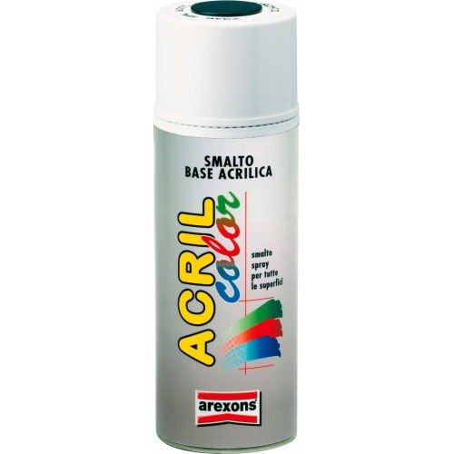 Smalto acrilico spray Arexons Fai Tu - Nero Opaco - 400 ml