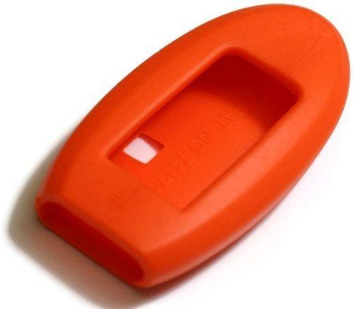 Preisvergleich Produktbild dantegts orange Silikon Schlüsselanhänger Schutzhülle Smart-Fernbedienung Beutel Schutz Schlüssel Kette passend für: Infiniti jx-35