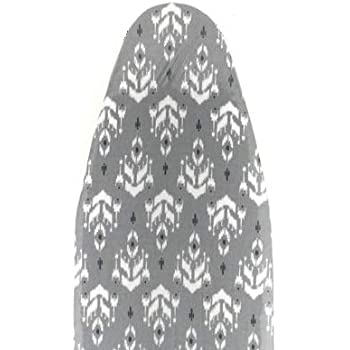 Homespace Ikat Design Iron Board Cover with Extra Thick Foam and Felt Padding(Length 126-127cm X Width 45-46cm)