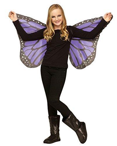 Flügel Fantasy Kostüme Feen (Schmetterlingsflügel für Kinder)