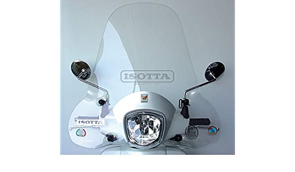 A428 Pare-Brise Isotta Compatible avec Kymco Like 50 2009 SC2716