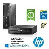 Ordinateur HP Compaq 8300Elite Core i7–37703.4GHz 4Go RAM 500Go DVD Windows 10Professional (SFF Unité Certificat)