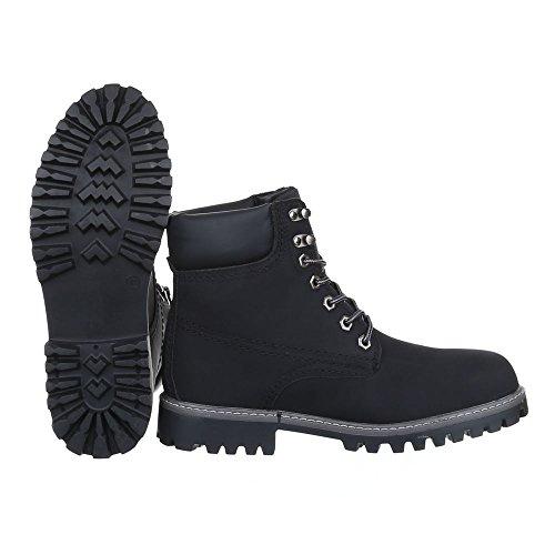 Ital-Design , Desert boots homme Schwarz