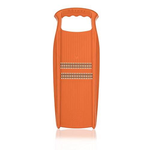 Börner Roko PowerLine in Orange - Reibe für Juliennestreifen aus - Klingen Borner
