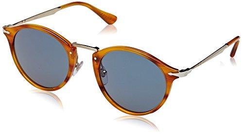 Persol 3166s, occhiali da sole polarized unisex - adulto, blu (960/56), 51 mm
