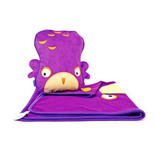 trunki-snoozihedz-travel-pillow-and-blanket-ollie-the-owl-purple