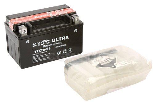 KYOTO - BATTERIA Ytx7a-bs - L150xl87xH94 - Senza Manutenzione - Fornita con acido