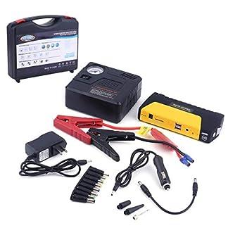 41Q2t9JXNQL. SS324  - Salte la batería del arrancador, batería del banco de potencia del reforzador del cargador de emergencia del cargador del coche del motor del automóvil del coche del motor del coche de 68800MAHUSB.