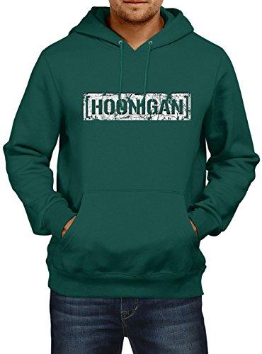 Hoonigan #1 Vintage Premiumhoodie  Gymkhana Hoodie  Hoonicorn   Ken Block Schwarz
