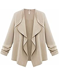 0c7b774df7ae3 YCQUE Women Street Clothing Solid Keep Warm College StudentsAutumn Spring Solid  Long Sleeve Loose Plus Coat