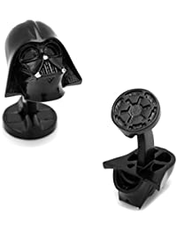 MasGemelos - Gemelos Darth Vader 3D Black Star Wars Cufflinks