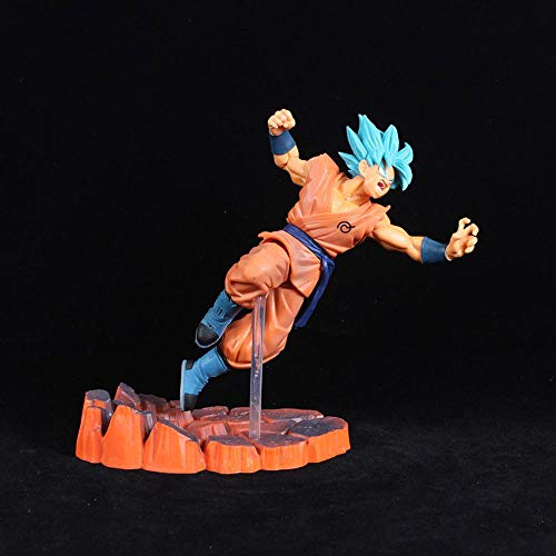 Anime Dragon Ball Z Goku Fighers Super Saiyan Prince Vegeta Manga Trunks Son Gokou Gohan Figura de acción Modelo Colección Toy Gift, 2