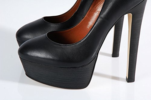 Steve Madden Daeva Shoes platform decolté black shoes - Scarpe tacco alto nere Black