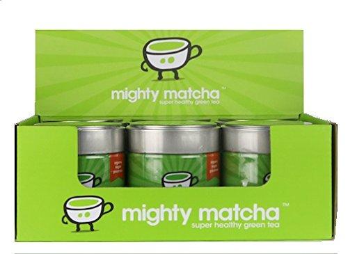 Matcha Tee - Gruener Tee Pulver 100{7bb3a8f42eb505ca283e76ae210059bbb8dfca89ac0ccb55f6ea8e1bc00c7311} Organic - Preisgekrönte Premiumqualität, Vegan - Extra feines Pulver, Ceremonial Grade (6 Pack)