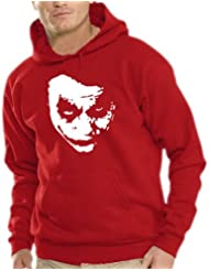 Touchlines Herren Heath Ledger - JOKER Kapuzen Sweatshirt B7138