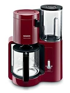 siemens tc80104 kaffeemaschine 1160 watt 10 tassen cranberry red. Black Bedroom Furniture Sets. Home Design Ideas