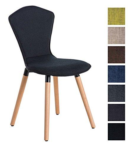 CLP-Chaise-de-salle–manger-FELICE-dossier-haut-revtement-en-tissu-pitement-en-bois-naturel-rembourrage