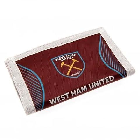 West Ham United F.C. Nylon Wallet SV Official Merchandise by West Ham United F.C.