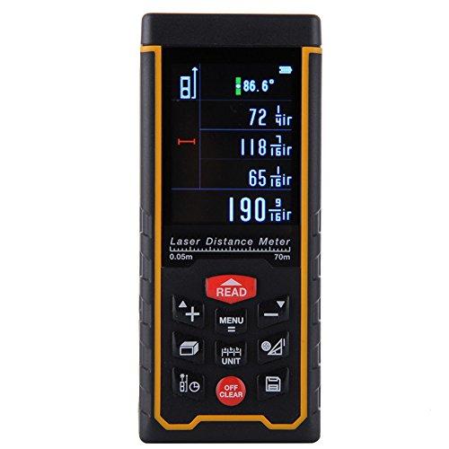 Preisvergleich Produktbild HimanJie Professional Laser Entfernungsmesser Aufladbar RZ-AS Fläche Volumen Laser Distanzmessgerät Range Finder(RZ-AS70)