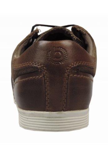 Bugatti F5407-31, Sneaker uomo Marrone (marrone)