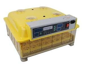 Couveuse incubateur de qualité automatique 48 oeufs bac transparent