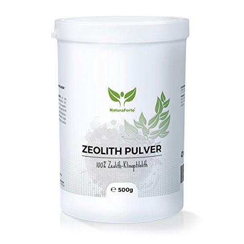 NaturaForte Zeolith Klinoptilolith Pulver, 500g Dose