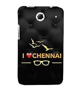 EPICCASE I love Chennai Mobile Back Case Cover For Lenovo S880 (Designer Case)