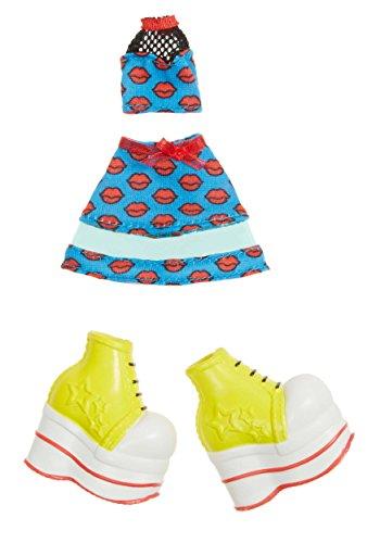 Bratz Fashion Pack # 3-Zubehör für Puppen (5Jahr (S), blau, rot, weiß, gelb, Kunststoff, CE)