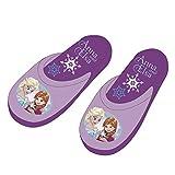 Disney Frozen Slipper Kinderhausschuhe Schuhe Pantoffeln Hausschuhe Die Eiskönigin Anna ELSA Olaf Sven WD9793 (28/29)
