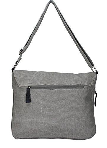 PiriModa, Borsa a spalla donna Multicolore multicolore grigio