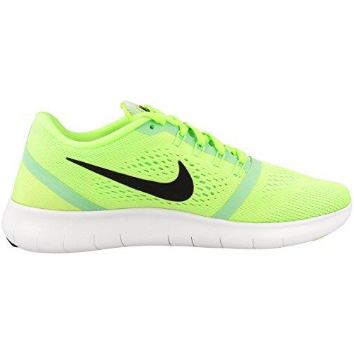 Nike Damen Free RN Laufschuhe Grün (Ghost Grn/Blk-Fresh MNT-Off Wht)