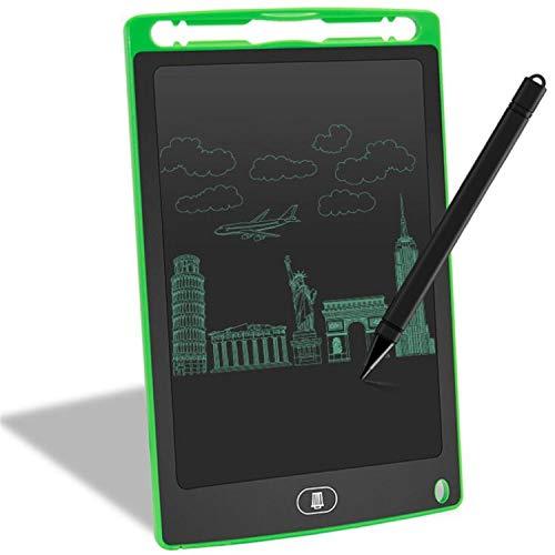 BABIFIS Tablero de Escritura electrónico portátil del Tablero de la Pintura de la Pintada de los niños de la Tableta LCD de 8,5 Pulgadas Green