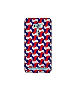 Kolor Edge Printed Back Cover for Asus Zenfone Selfie - Multicolor (4400-Ke10948ZenSelfieSub)