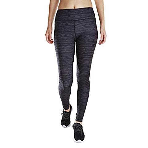 Byjia Women'S Sports Yoga Pantalons Impression Fitness Loisirs Quick Dry Extérieur Run Elasticity High Waist Skinny Leggings Workout Gym Throw 2# S