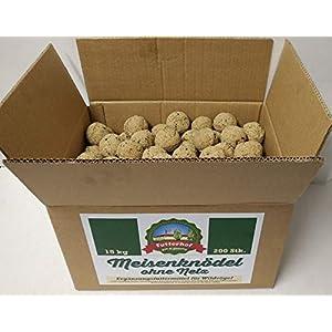 Futterhof Meisenknödel ohne Netz, 200 STK. (=18 kg) im Karton