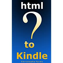 HTML TO KINDLE