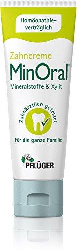 MinOral® - die homöopathieverträgliche Zahncreme, Pflege-Set 3x75ml