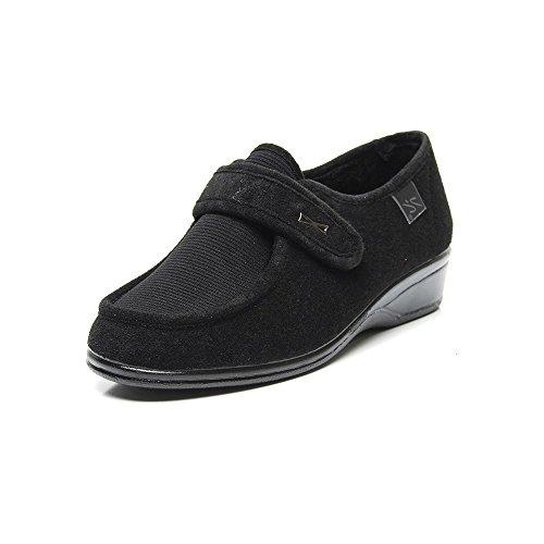 DOCTOR CUTILLAS, Sneaker donna Nero Negro 41