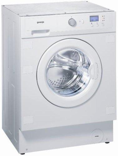 Gorenje WI73140DE Einbau-Waschmaschine / A+B / 238 kWh/Jahr / 1400 UpM / 7 kg / weiß / Quick 30 Min / Zentraler Einhand Programmwahlknop