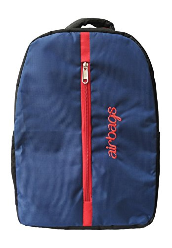 airbags entry level laptop backpack 15.6 inch blue