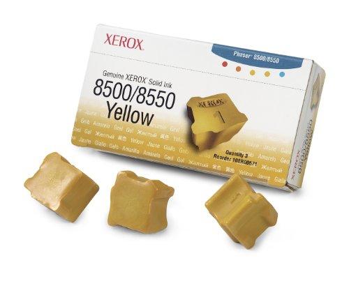 108R00671 - Genuine Xerox Solid Ink 8500/8550 Gelb (3 Sticks)