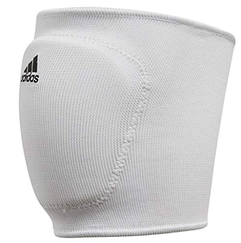 adidas S1748VB100 5-Inch Knee Pad, White/Black, Small (Weiße Knie-pads-volleyball)