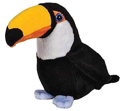Toucan Bird Pounce Pal Plush Stuffed Animal by Pounce Pal