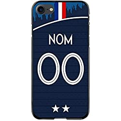 Coque Football Personnalisable iPhone 7/8 - France Coupe du Monde Domicile