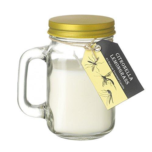 Heaven Sends Duftkerze im Einweckglas, verschiedene Duftrichtungen (L) (Citronella/Zitronengras)