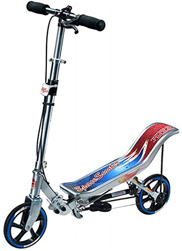 East Side Records - Space Scooter X580, Outdoor und Sport, silber/blau