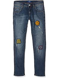 TOM TAILOR Kids Boy's Tom Denim With Badges Jeans