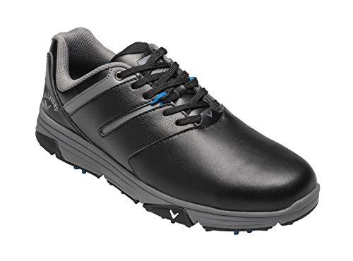 Callaway chev mission waterproofs, scarpe da golf uomo, nero black, 40.5 eu