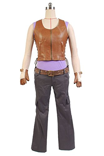 The Walking Dead Michonne Outfit Cosplay Kostüm